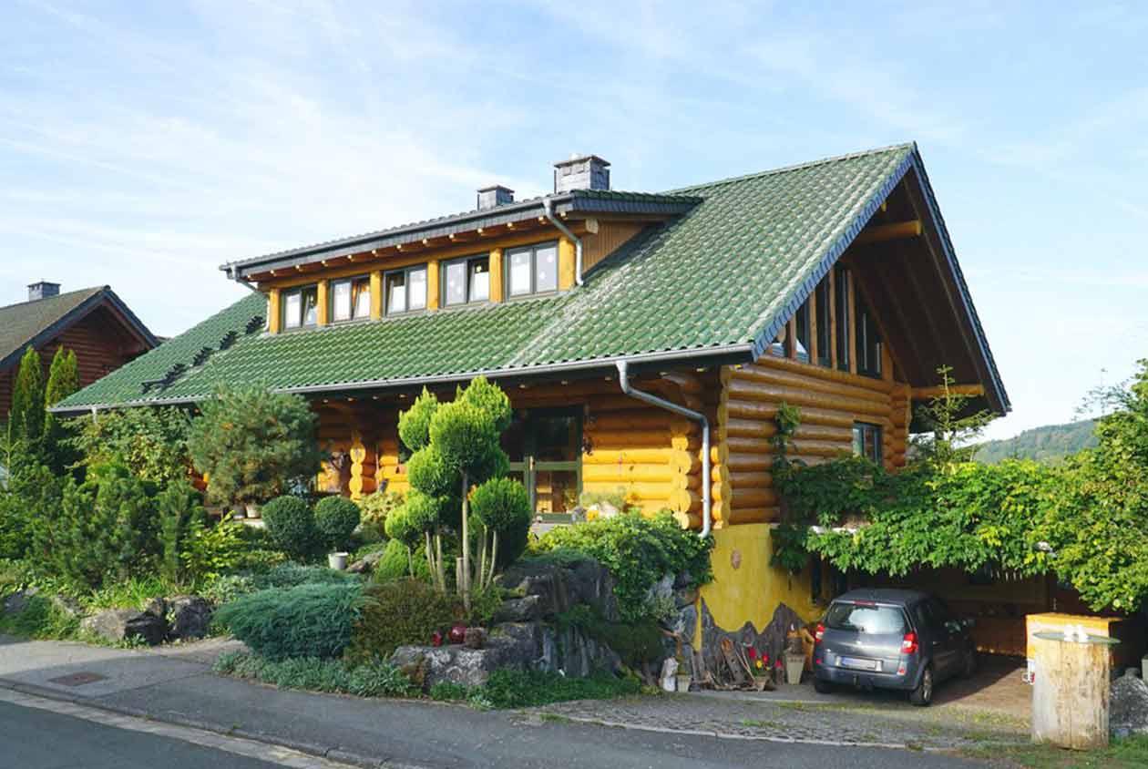 Blockhaus in unverbaubarerer Lahntallage +++ Verkauf 2019 - OBJEKTWERT Immobilien Consult